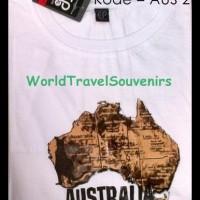 oleh oleh kaos peta dari australia