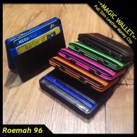 Dompet Impor Kulit | Dompet Sulap Tipis | Slim Magic Wallet Money Clip