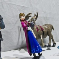 Disney Frozen Figure Play Set 6 pcs Doll Anna Elsa Hans Kristoff Sven
