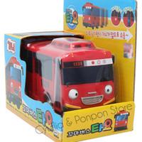 The Little Bus Tayo Pull Back Car Original Gani