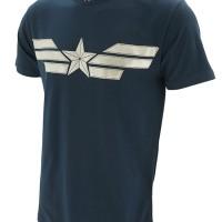 Jual Kaos/Baju Distro Superhero Captain America The Winter Soldier Suit Murah