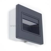 Lampu Tangga / Stairs Light LED AR74 300  1 Watt  Hitam