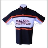 harga Baju Kemeja MotorSports Harley Davidson #12 Size: XXL Kode: BKD014 Tokopedia.com