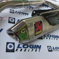 Knalpot racing Yamaha xabre dan R15 Akrapovic gp new