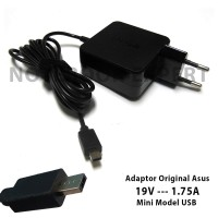 harga Adaptor Original Asus 19V-1.75A Mini Model USB EeeBook X205T X205TA Tokopedia.com