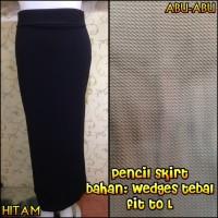 Rok Pensil Skirt / Rok Span Cewe Murah/ Rok Hijab Wanita/Rok Panjang