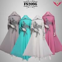 baju muslim anggun mewah lebaran model terbaru 2016, baju gamis lebarn