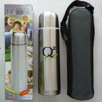 Botol TERMOS Q2 500 Ml Air Panas Stenlis / Stainless Steel 0,5 L VACCUM