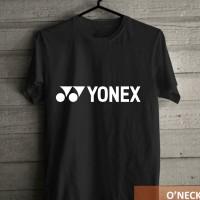 harga Kaos Distro Olahraga Badminton Motif Raket YONEX Murah Tokopedia.com