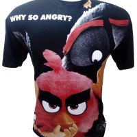 Kaos Dtg Premium Fit The Angry Birds Movie Collection Code: BLABM001