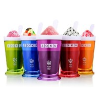 Gelas Pembuat Es / ZOKU Ice Cream Smoothie Milkshake Maker Cup