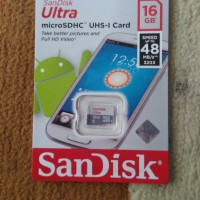 harga Sandisk Ultra Micro Sd / Sdhc 16gb Uhs-i Class 10 48mb /s No Adapter Tokopedia.com