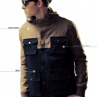 Jual jaket parka korean style | jaket pria | jaket kulit Murah