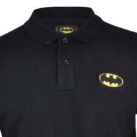 Polo shirt/ Tshirt/ Kaos kerah Batman hitam