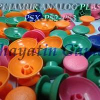 TOPI / JAMUR ANALOG PLASTIK WARNA PSX-PS2-PS3