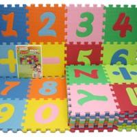 Karpet Evamat 15 x 15 cm - Angka & Huruf (Puzzle Evamats)