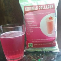 Minuman Collagen Strawberry Ekstract 250 Gr