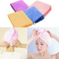 harga Magic Hair Towel/handuk Pengering Rambut Unik Ajaib Tokopedia.com