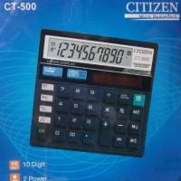 Kalkulator Citizen CT-500 Calculator (Check & Correct Function)+Solar