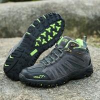 harga Sepatu Gunung Snta 480 GREY GREEN Trekking/Hiking/Adventure/Outdoor Tokopedia.com