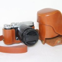 Full Half Case Fuji XM1 XA1 XA2 leather Fujifilm Camera X-M1 X-A1 X-A2