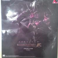 Play Arts Kai Predator Variant Red Square Enix KW include base skull