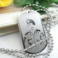 Kalung Nama Tni Army Foto Pahat