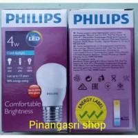 Lampu LED Philips 4 watt Bohlam 4w / Philip Putih 4 w Bulb LED 4watt