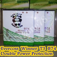 BATERAI CROSS EVERCOSS B74 WINNER T3 DOUBLE POWER PROTECTION