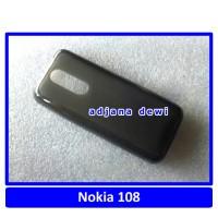 Silikon Case Nokia Asha 108 Hitam
