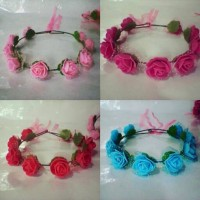Flower crown/ Mahkota bunga FANTA :Gabriell accessories