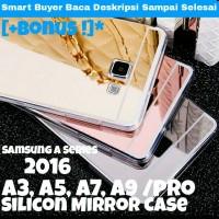 Samsung A3 A5 A7 A8 A9 2016 Pro Mirror Silicon Case / softcase Galaxy