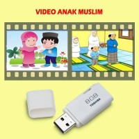 video anak muslim flashdisk 8gb