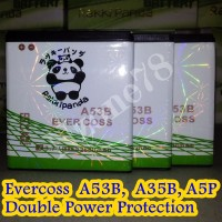 BATERAI CROSS EVERCOSS A53B A5P A12B A35B DOUBLE POWER PROTECTION