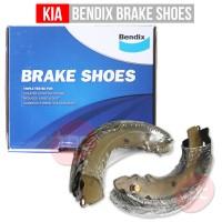 Kia Rio 2012-2013 Bendix Shoe/Kampas Rem/Bantalan Rem/Sepatu Rem