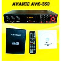 Murah !!! Dvd Karaoke Avante Avk 550
