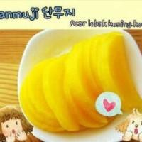 Korean Danmuji Yellow Pickle Radish Acar Lobak Kuning 550g Halal