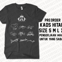 KAOS TANDA TANGAN SNSD & KAOS DO YOU INSTAGRAM TAEYEON