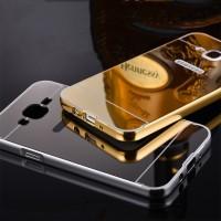 Case Mirror Samsung Galaxy A5 A500 2015 Alumunium Metal Bumper