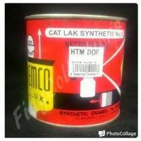 CAT MINYAK / CAT KAYU BESI EMCO HITAM DOFF 500GRAM