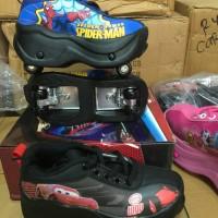 harga Sepatu Roda Anak (Superman & Cars/McQueen) Tokopedia.com