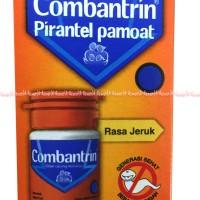 Combantrin Pirantel obat cacing anak syrup Rasa Jeruk 10ml