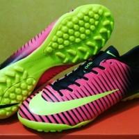 sepatu futsal nike mercurial vapor XI pink turf grade ori import