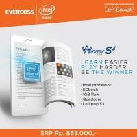 Evercoss AT7F Tab Winner S3, Intel Atom X3 inside