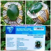 CM093 Batu Cincin Williamsite Serpentine Aceh