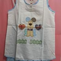 Set Baby Doll Ni-Q-ta Dog / Set Baju Tidur