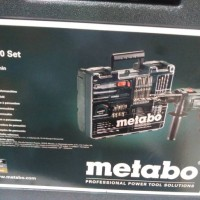 IMPACT DRILL SBE METABO &PERLENGKAPAN NYA 650 PCS
