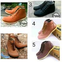 Sepatu Semi Boots Pria Dalmo Best Seller