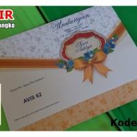 AV62   Undangan Blangko Harga Grosir.