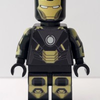 Lego Minifigure Super Heroes Ironman Iron Man Mark XX Mark 20 Custom